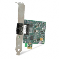 AT-2711FX/ST - Network adapter - PCIe - 10/100 Ethernet - federal government - TAA Compliant