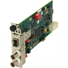C6210 Series DS3-T3/E3 Coax to Fiber Network Interface Device - Short-haul modem - SC single-mode / BNC - up to 12.4 miles - T-3/E-3 - 1310 nm