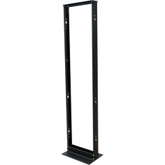 45U SMARTRACK 2-POST OPEN FRAME RACK 800-LB. CAPACITY - ORGANIZE AND SECURE NETWORK RACK EQUIPMENT
