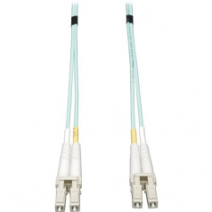 4M 10Gb Duplex Multimode 50/125 OM3 LSZH Fiber Patch Cable LC/LC Aqua 4 Meters - Patch cable - LC multi-mode (M) to LC multi-mode (M) - 13 ft - fiber optic - 50 / 125 micron - OM3 - halogen-free - aqua