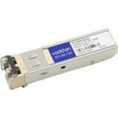 SFP (mini-GBIC) transceiver module (equivalent to: Fortinet FG-TRAN-SX) - GigE - 1000Base-SX - LC multi-mode - up to 1800 ft - 850 nm - TAA Compliant