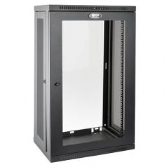 21U Wall Mount Rack Enclosure Server Cabinet w/Acrylic Door - Rack - cabinet - wall mountable - black - 21U - 19 inch