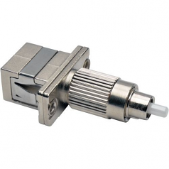 OPTICAL FIBER CABLE TESTER ADAPTER FC/SC 50/125 OM3 10 GB M/F