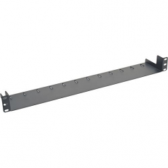 1U Horizontal Rack Server Cabinet Mount Cable Management Tray - Rack cable management tray - black - 1U - 19 inch