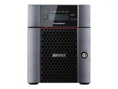 TeraStation 5410DN - NAS server - 4 bays - 16 TB - SATA 6Gb/s - HDD 8 TB x 2 - RAID 0 1 5 6 10 JBOD - RAM 4 GB - 10 Gigabit Ethernet - iSCSI - with 24/7 North American based support