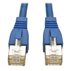 5ft Augmented Cat6 Cat6a Shielded 10G Patch Cable RJ45 M/M Blue 5 - Patch cable - RJ-45 (M) to RJ-45 (M) - 5 ft - STP - CAT 6a - snagless stranded - blue