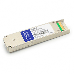 HP JD088A Compatible XFP Transceiver - XFP transceiver module (equivalent to: HP JD088A) - 10 GigE - 10GBase-LR - LC single-mode - up to 6.2 miles - 1310 nm