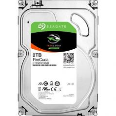 FireCuda - Hybrid hard drive - 2 TB (8 GB Flash) - internal - 3.5 inch - SATA 6Gb/s - buffer: 64 MB