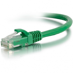 25ft Cat6a Snagless Unshielded (UTP) Network Patch Ethernet Cable-Green - Patch cable - RJ-45 (M) to RJ-45 (M) - 25 ft - UTP - CAT 6a - molded snagless - green