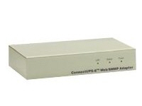 Connectups-E External Web SNMP Adapter - Remote Management Adapter - 10/100Base-TX