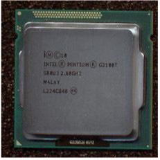 Intel Pentium G2100T Dual-Core 64-bit low-power processor - 2.60GHz (Ivy Bridge 3MB Level-3 cache Direct Media Interface (DMI) speed 5.0 GT/s 35 watt thermal design power (TDP) socket FCLGA 1155)