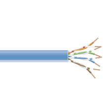 1000FT SPOOL BLUE CAT6 550MHZ S TRANDED CABLE UNSHIELDED PVC