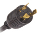 Power connector adapter - NEMA L6-30 (M) - 15 ft - for P/N: eAM001 eMA010 EPBZ79 EPBZ80 EPBZ91 PW105AM0U411 PW105BA2U420 PW105MI2U402