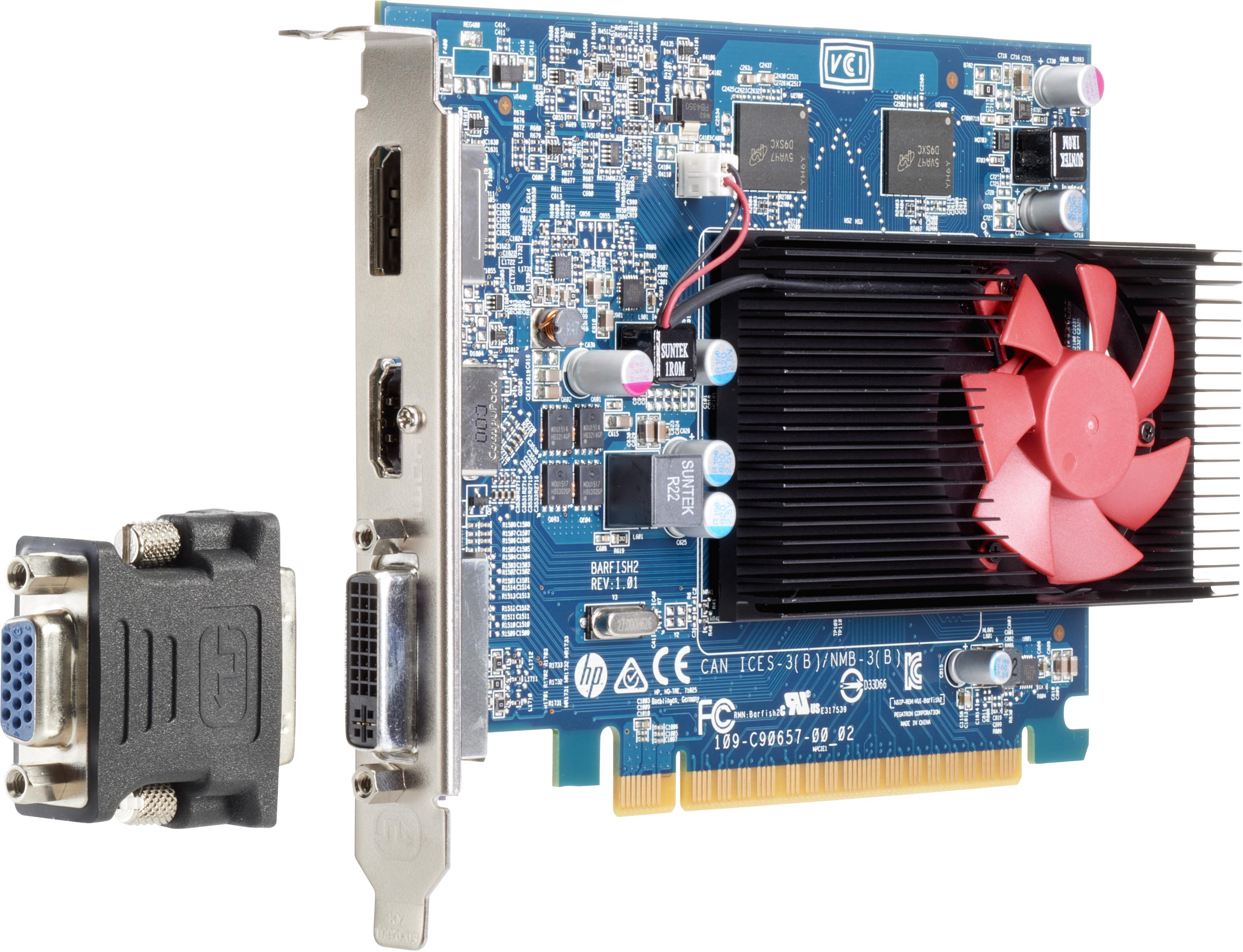 Z9h52aa Hp New Amd Radeon R7 450 Graphics Card 4 Digital Alliance Psu Gaming 500 Watt 80 Bronze Gb Ddr3