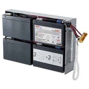 Replacement Battery Cartridge #24 - UPS battery lead acid - black - for P/N: DLA1500RM2U DLA1500RMI2U SU1400R2IBX135 SUA1500R2X138 SUA1500R2X180 SUA1500R2X93