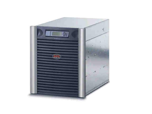 Symmetra LX 8kVA Scalable to 8kVA N+1 - Power array ( rack-mountable ) - AC 208/240 V - 8000 VA - Ethernet 10/100 - output connectors: 7 - 13U - black silver