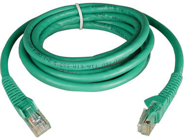 5ft Cat6 Gigabit Snagless Molded Patch Cable RJ45 M/M Green 5 feet - Patch cable - RJ-45 (M) to RJ-45 (M) - 5 ft - UTP - CAT 6 - molded snagless stranded - green