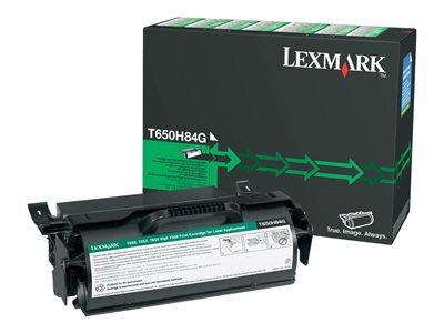 High Yield - black - original - toner cartridge - for Lexmark T650dn T650dtn T650n T652dn T652dtn T652n T654dn T654dtn T654n