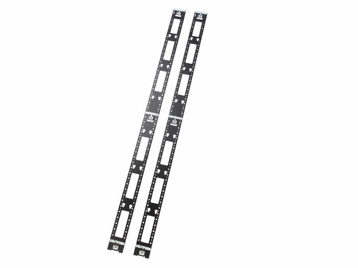 NetShelter SX 48U Vertical PDU Mount and Cable Organizer - Cable Manager - Black