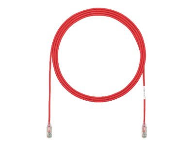 TX6-28 Category 6 Performance - Patch cable - RJ-45 (M) to RJ-45 (M) - 8 ft - UTP - CAT 6 - IEEE 802.3at - booted halogen-free snagless stranded - red