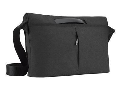 Opin Mini Messenger - Notebook carrying case - 13 inch - carbon black