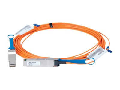 LinkX 100Gb/s Active Optical Cables - InfiniBand cable - QSFP - QSFP - 164 ft - fiber optic - SFF-8665/IEEE 802.3bm - halogen-free active cable (signal regeneration)