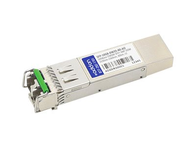 SFP+ transceiver module - 10 GigE - 10GBase-DWDM - LC single-mode - up to 49.7 miles - channel: 35 - 1549.32 nm - TAA Compliant
