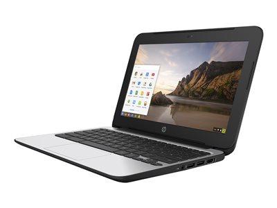 Chromebook 11 G4 - Education Edition - Celeron N2840 / 2.16 GHz - Chrome OS - 2 GB RAM - 16 GB eMMC - 11.6 inch TN 1366 x 768 ( HD ) - HD Graphics - Wi-Fi - black (keyboard)