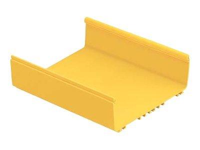FiberRunner 12x4 Channel - Cable raceway base - yellow