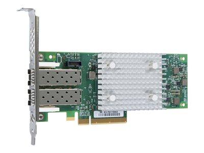 32Gb Dual Port FC HBA PCI Express Gen3 x8 LC Multi-Mode Optic