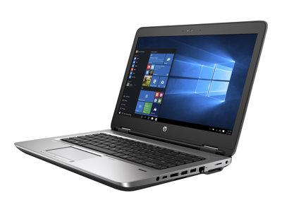 ProBook 640 G2 - Core i7 6600U / 2.6 GHz - Win 7 Pro 64-bit (includes Win 10 Pro 64-bit License) - 8 GB RAM - 256 GB SSD - DVD SuperMulti - 14 inch 1920 x 1080 (Full HD) - HD Graphics 520 - Bluetooth - kbd: US