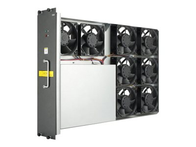 10508 Spare Fan Tray Assembly - Includes eight 120mm x 120mm (4.72inch x 4.72inch) fans in a slide-out tray assembly - Produces maximum air flow of 1440CFM