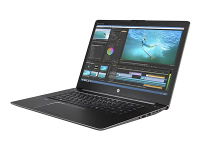 ZBook Studio G3 Mobile Workstation - Ultrabook - Core i5 6300HQ / 2.3 GHz - Win 7 Pro 64-bit (includes Win 10 Pro 64-bit License) - 8 GB RAM - 128 GB SSD - 15.6 inch IPS 1920 x 1080 (Full HD) - HD Graphics 530 - Wi-Fi Bluetooth - space silver - kbd: US