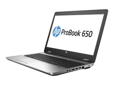 ProBook 650 G2 - Core i7 6600U / 2.6 GHz - Win 7 Pro 64-bit (includes Win 10 Pro 64-bit License) - 8 GB RAM - 256 GB SSD TLC - DVD SuperMulti - 15.6 inch 1920 x 1080 (Full HD) - HD Graphics 520 - Bluetooth - kbd: QWERTY US