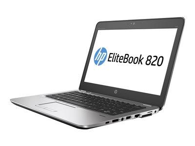 EliteBook 820 G4 - Core i7 7500U / 2.7 GHz - Win 10 Pro 64-bit - 8 GB RAM - 256 GB SSD HP Z Turbo Drive G2 - 12.5 inch 1920 x 1080 (Full HD) - HD Graphics 620 - Wi-Fi NFC Bluetooth - kbd: US
