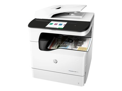 PageWide Pro 777z - Multifunction printer - color - page wide array - A4 (8.25 in x 11.7 in)  A3 (11.7 in x 16.5 in) (original) - A3 (media) - up to 65 ppm (copying) - up to 65 ppm (printing) - 650 sheets - 33.6 Kbps - USB 2.0 LAN Wi-Fi(n)  NFC USB 2