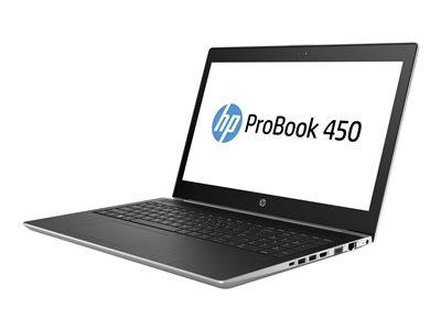 ProBook 450 G5 - Core i5 8250U / 1.6 GHz - Win 10 Pro 64-bit - 4 GB RAM - 500 GB HDD - 15.6 inch TN 1366 x 768 (HD) - UHD Graphics 620 - Wi-Fi Bluetooth - kbd: US