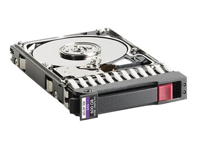 TDSourcing Enterprise - Hard drive - 600 GB - hot-swap - 2.5 inch SFF - SAS 6Gb/s - 10000 rpm - Smart Buy - with HP SmartDrive carrier