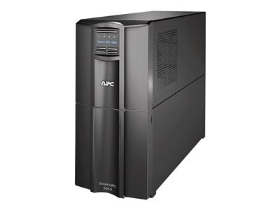 Smart-UPS - UPS - AC 110/120/127 V - 2.7 kW - 3000 VA - RS-232 USB - output connectors: 10 - Canada United States - black - with APC SmartConnect