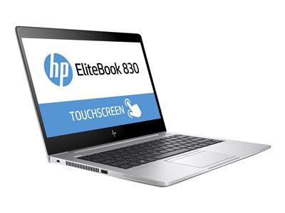 EliteBook 830 G5 - Core i5 8250U / 1.6 GHz - Win 10 Pro 64-bit - 8 GB RAM - 256 GB SSD SED TCG Opal Encryption 2 TLC - 13.3 inch IPS touchscreen 1920 x 1080 (Full HD) - UHD Graphics 620 - Wi-Fi NFC Bluetooth - kbd: US