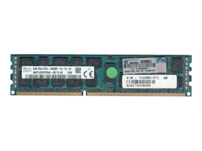 16GB 1866MHz PC3-14900R-13 DDR3 dual-rank x4 1.50V registered dual in-line memory module (RDIMM)