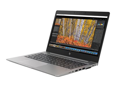 ZBook 14u G5 Mobile Workstation - Core i7 8650U / 1.9 GHz - Win 10 Pro 64-bit - 8 GB RAM - 256 GB SSD HP Z Turbo Drive NVMe - 14 inch IPS touchscreen 1920 x 1080 (Full HD) - Radeon Pro WX 3100 / HD Graphics 620 - Wi-Fi Bluetooth - turbo silver - kbd: US