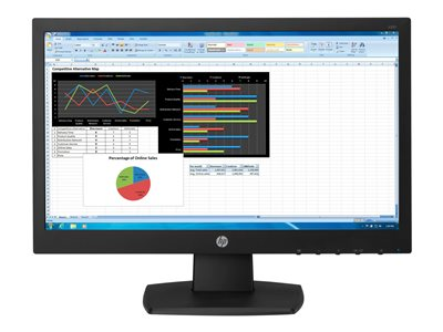 N223 - LED monitor - 21.5 inch (21.5 inch viewable) - 1920 x 1080 Full HD (1080p) - TN - 250 cd/m2 - 600:1 - 5 ms - HDMI VGA - black