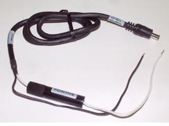 36 BARE WIRE INPUT CABLE FOR LIND POWER ADAPTE;USE ONLY WITH LIND 70 WATT NON FU