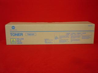BRAND 8938-506 TN-210Y YELLOW TONER FOR USE IN KONICA BIZHUB C250 / C250P