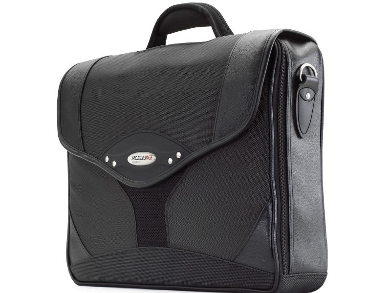 Select Nylon 14.1 inch to 15.4 inch Laptop Briefcase - Notebook carrying case - 14.1 inch - 15.4 inch - black charcoal