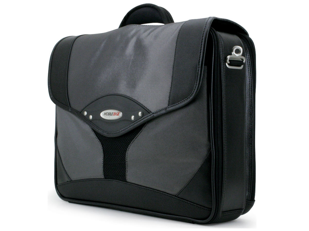 Premium 15.6 inch Notebook Briefcase - Notebook carrying case - 15.6 inch - 16 inch - black silver
