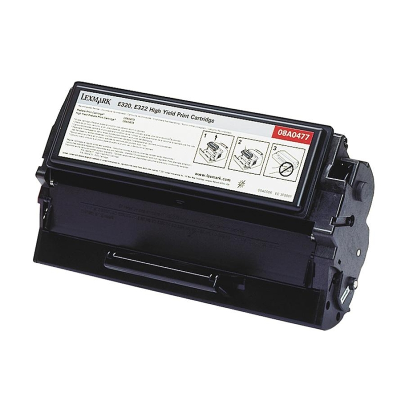 High Yield - black - original - toner cartridge - for Lexmark E320 E322 E322n E322tn