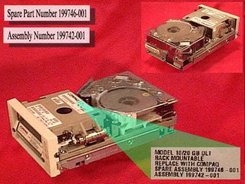 10/20GB DLT Tape Drive
