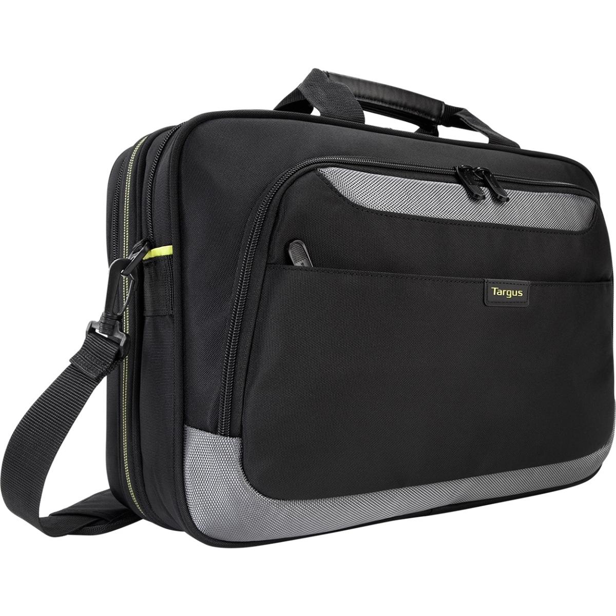 CityGear II Topload Case - Notebook carrying case - 15.6 inch - gray black